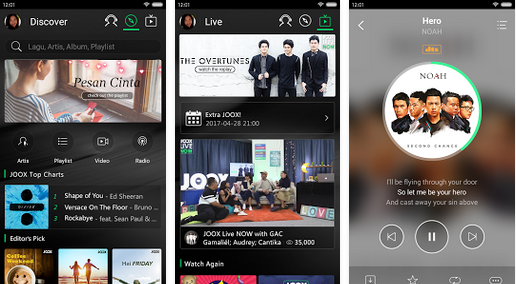 Screenshot JOOX Music VIP for Android