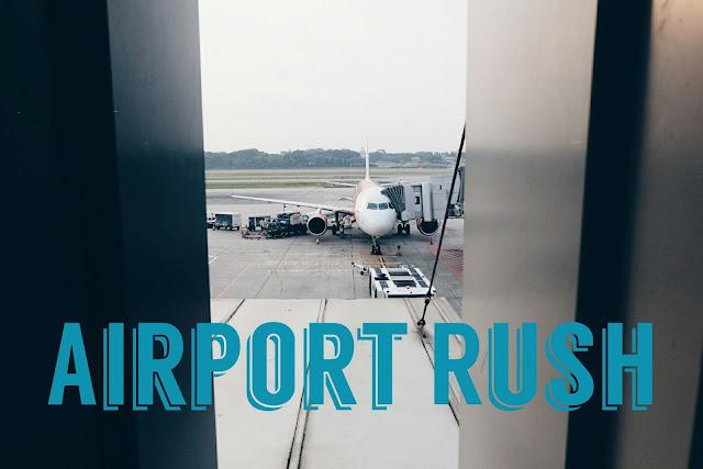 mengejar pesawat di changi airport