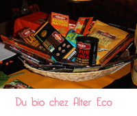 tablettes de chocolat de Alter eco
