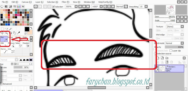 Tutorial Menggambar di Paint Tool SAI
