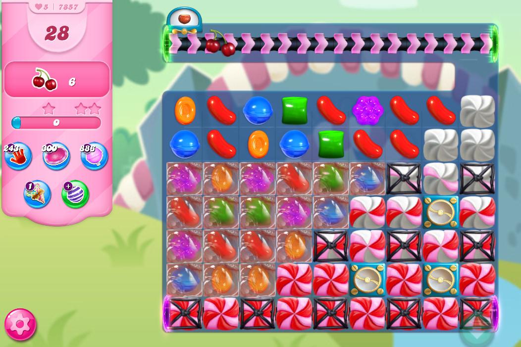 Candy Crush Saga level 7857