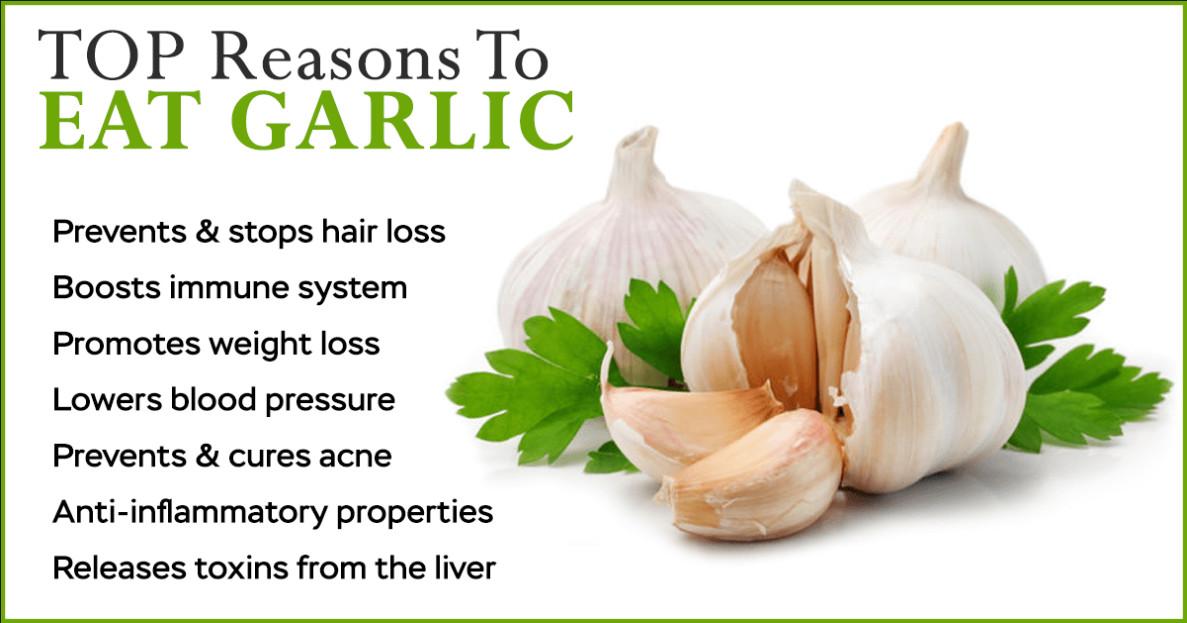 Benefits of Eating Raw Garlic