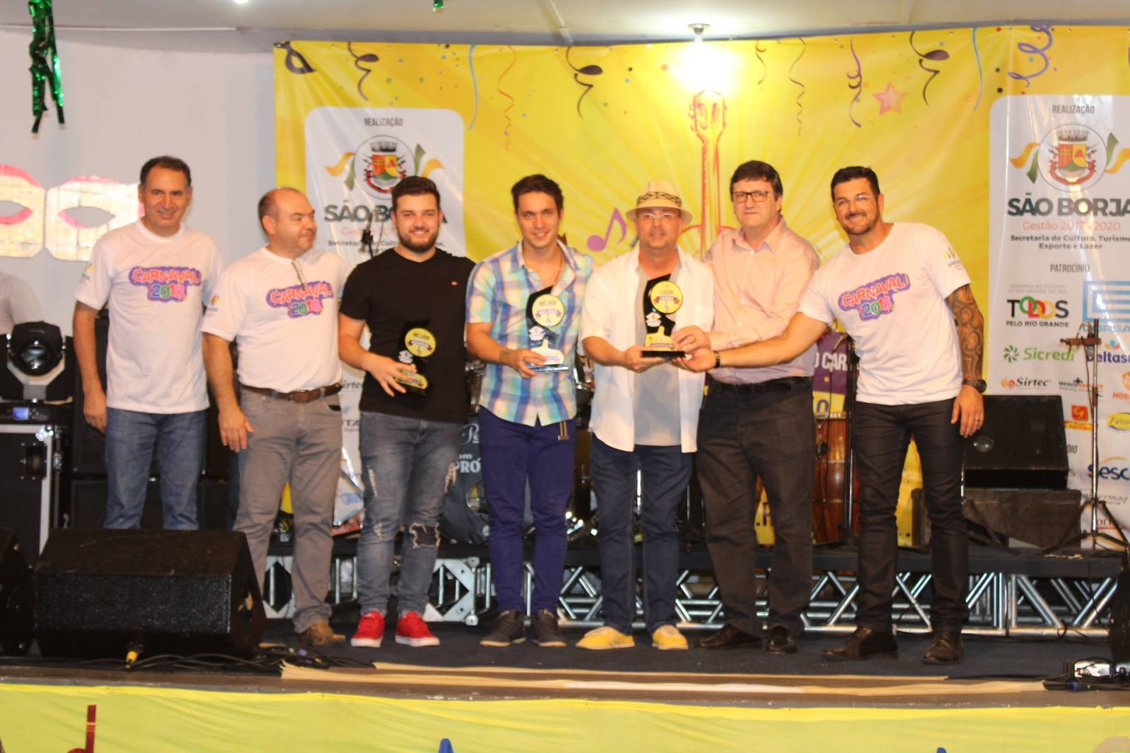 Vencedores do 51º Concurso de Músicas para o Carnaval Apparício Silva Rillo