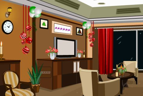 KnfGame New Year Party Restaurant Escape Walkthrough