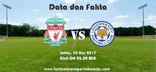 Data dan Fakta Fantasy Premier League Liverpool vs Leicester Fantasi Manager Indonesia