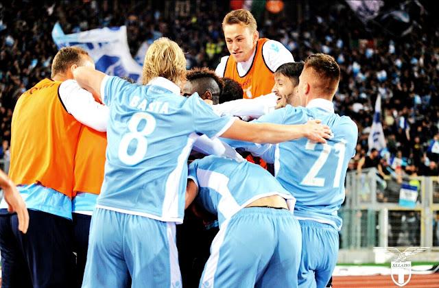 Lazio foi superior no dérbi, e é finalista da Coppa Italia