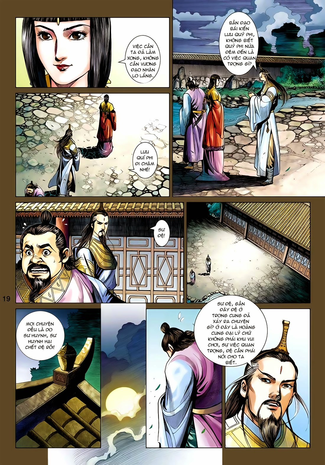 Anh Hùng Xạ Điêu anh hùng xạ đêu chap 77: thế thượng tối cường võ công trang 19