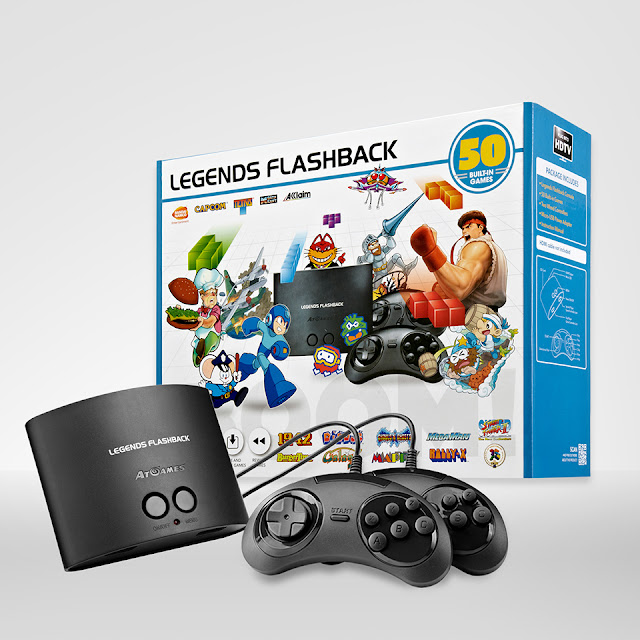 AtGames® Announces Legends Flashback Console