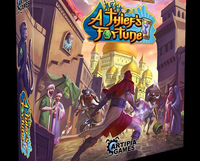"""""""A Thief's Fortune"""", al via il Kickstarter di Artipia Games"""
