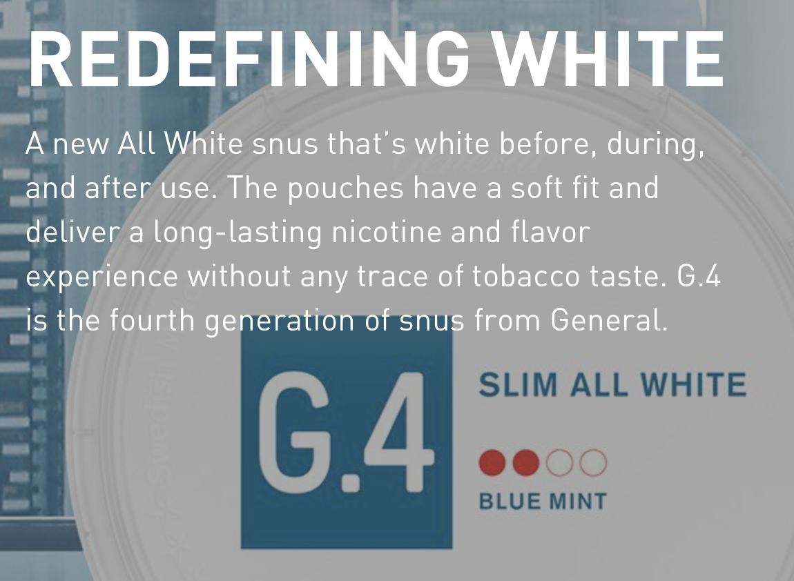 Snubie com: G4 Fizzy (All White) - Review  8 July 2019