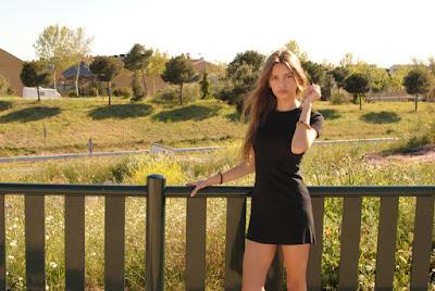 sara pericacho vestido negro