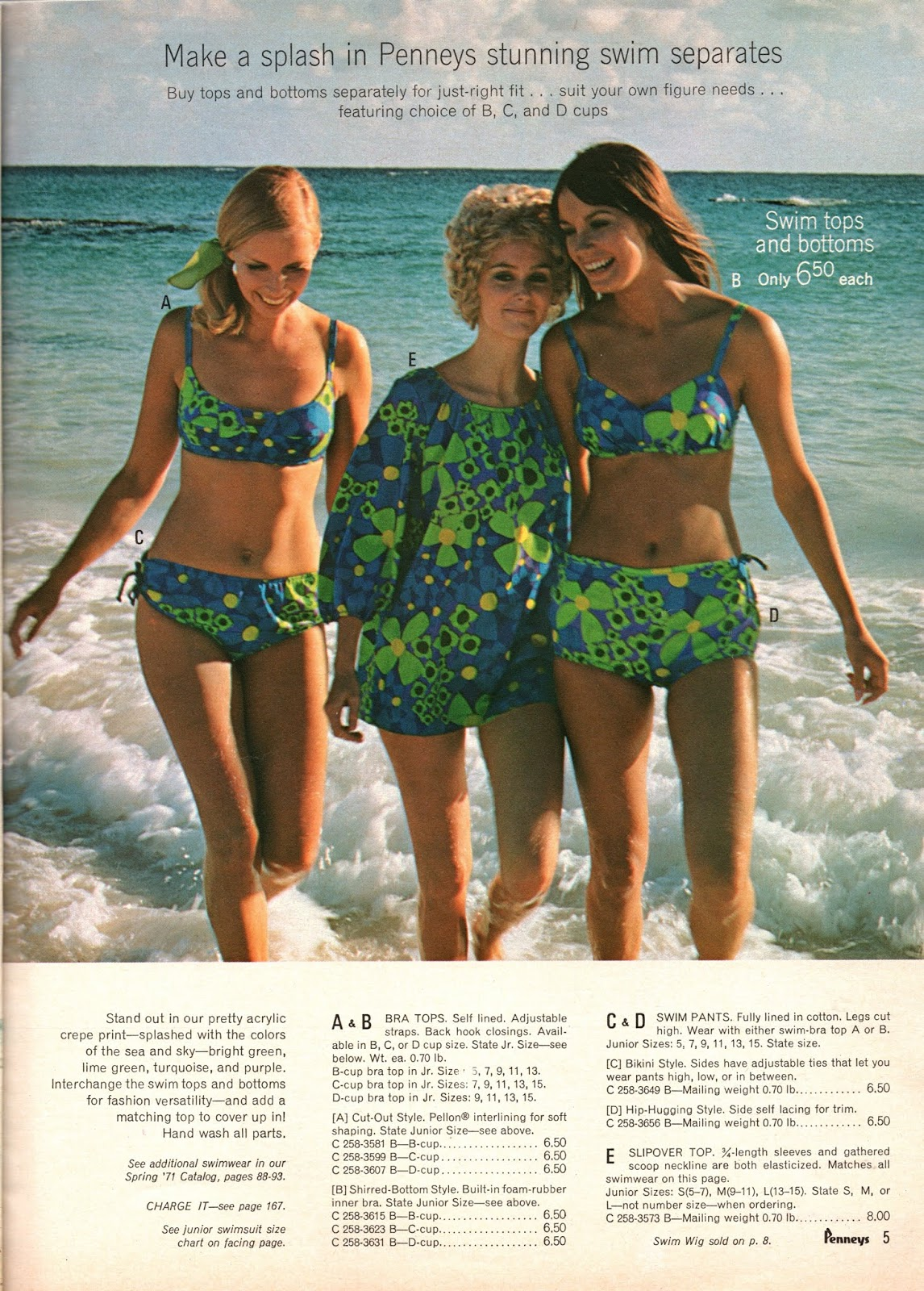 1490e31516751 Nice swimsuits, but I'm not feeling that funky 70s vibe here.