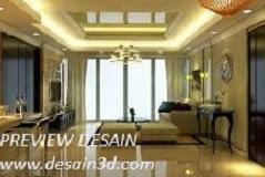 Jasa desain renovasi interior ruang tamu menjadi lebih mewah dan elegan