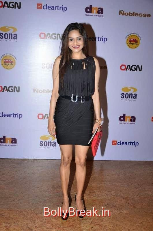 Madhoo at Magic Bus charity dinner, Sunny Leone, Neha Dhupia, Sonakshi Sinha Snapped At DIfferent Events