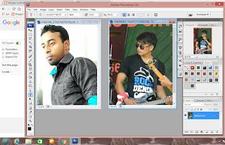 Cara memotong Gambar Atau Wajah Gampang Banget Dengan Photosop CS3