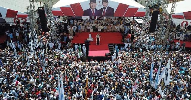 "Teriakan ""Prabowo Presiden!"" Bergemuruh di 'Kandang Banteng'"