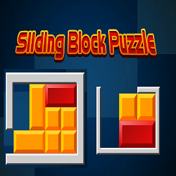 Sliding Blocks Puzzle (Logical Game)