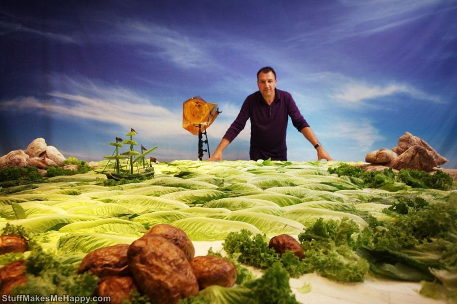 Amazing Foodscapes by Carl Warner