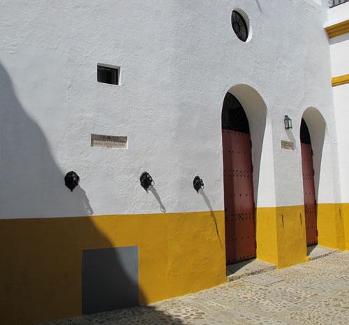 Plaza de Toros de la Maestranza stables