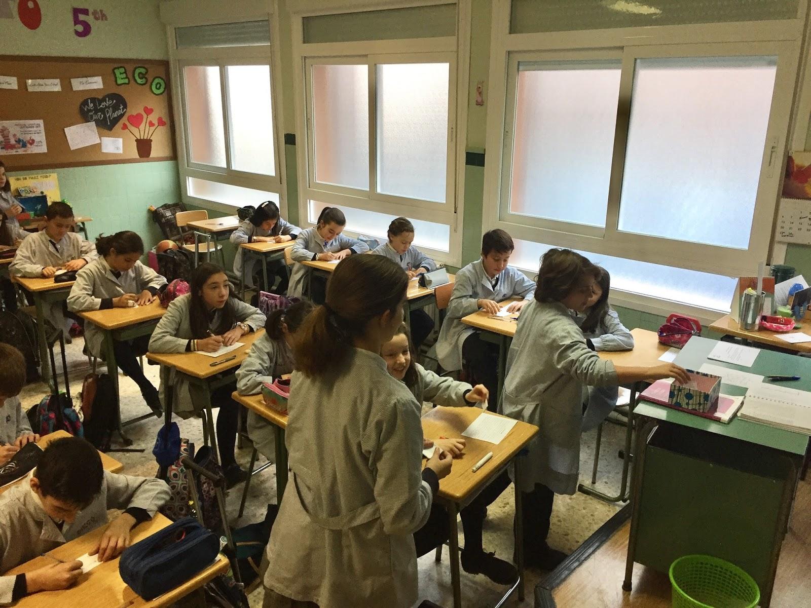 Agustinas Valladolid - 2017 - Primaria 5 - Elecciones