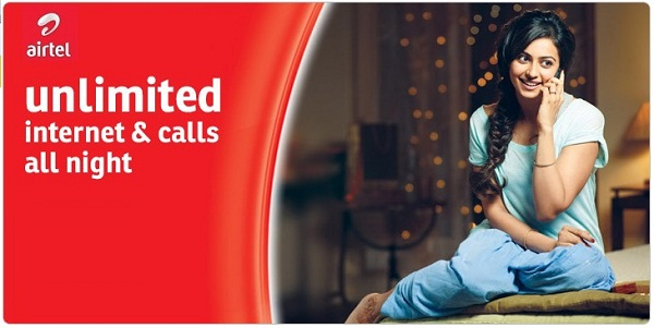 Subscribe To Airtel Unlimited Night Data Plan; Works on PC, Android and iOS price in nigeria