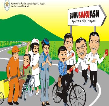 Dowload Buku Saku Aparatur Sipil Negara 2015