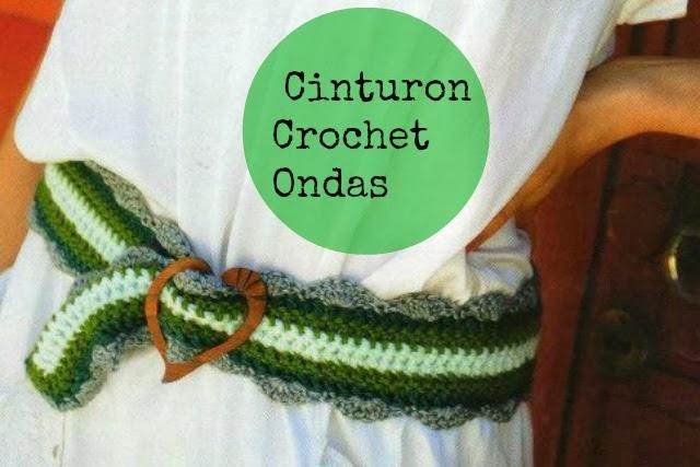 Cinturon Crochet Ondas Instrucciones