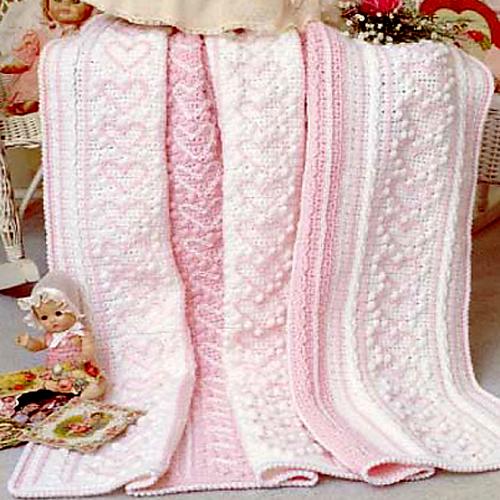 Heart Strings Afghan - Free Pattern
