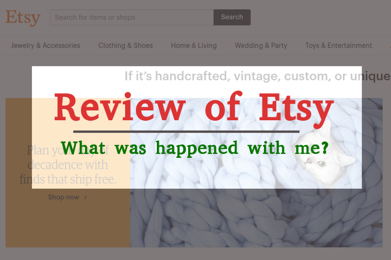 Review of Etsy Online Shopping Site