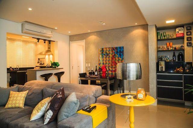 amarelo-decoração-sala