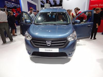 Dacia Dokker front