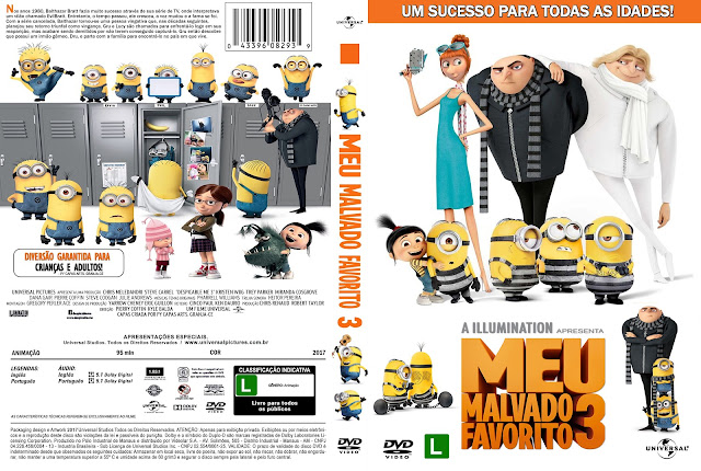 Capa DVD Meu Malvado Favorito 3