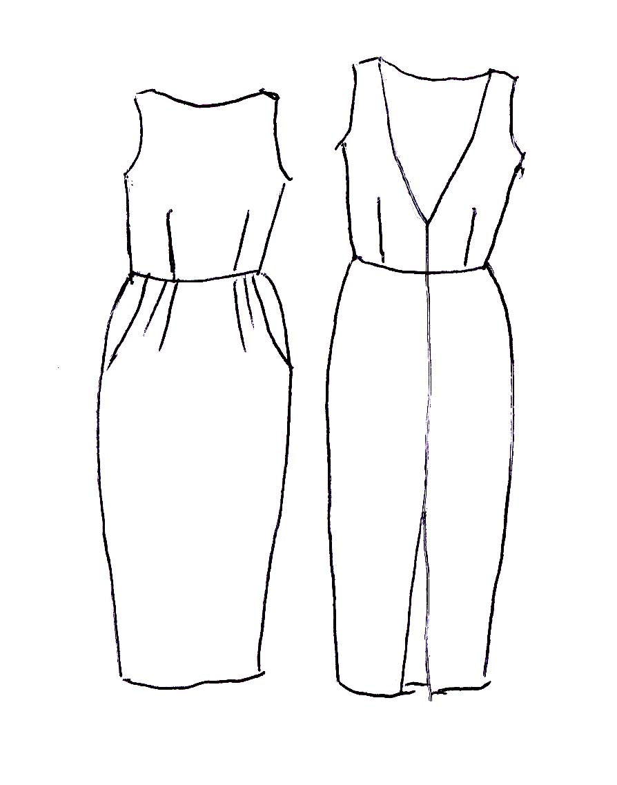 Jumpsuit Design Coloring Pages
