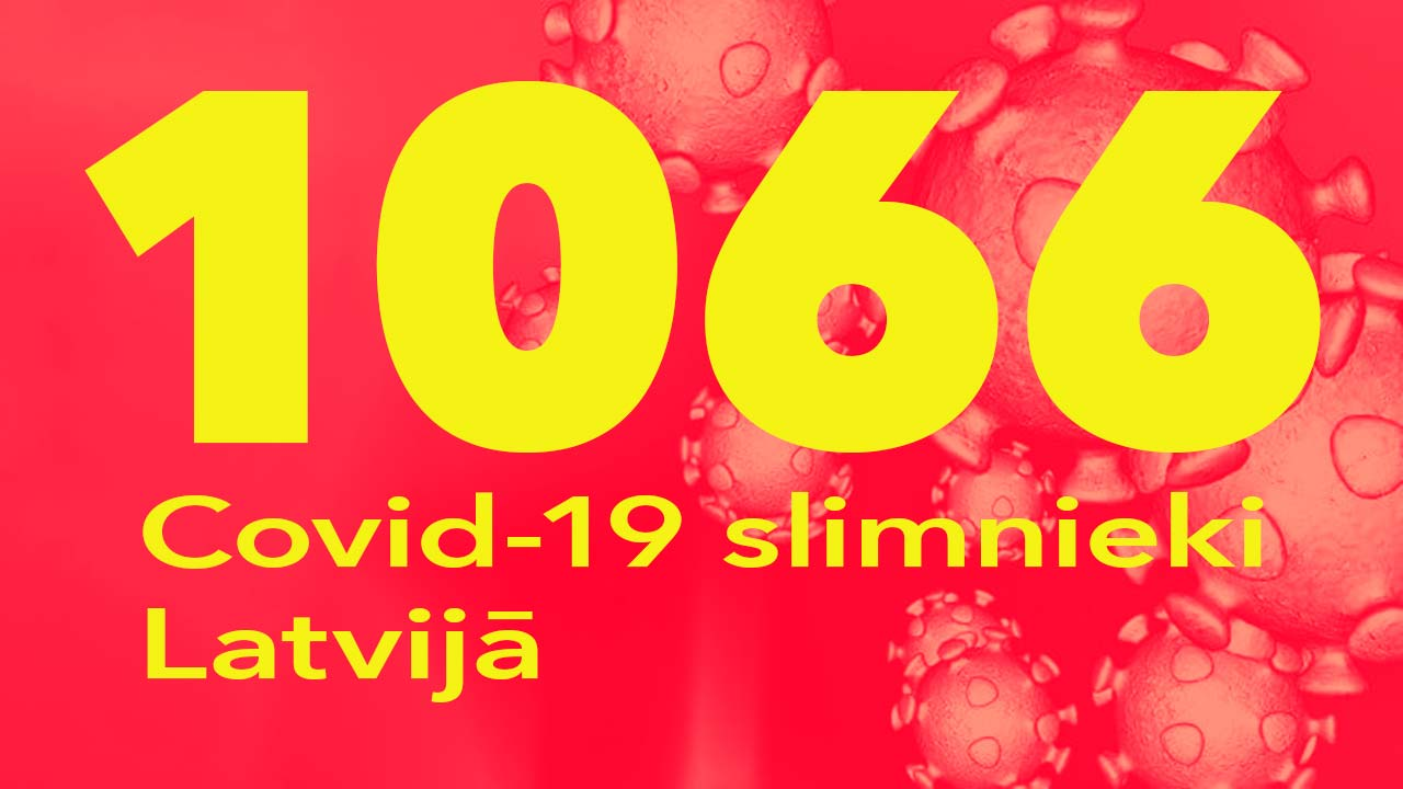 Koronavīrusa saslimušo skaits Latvijā 01.06.2020.