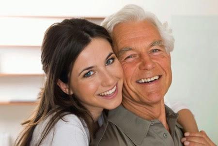Yêu người hơn tuổi bố mình phải làm sao đây ?