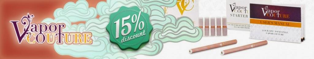Vapor Couture E-Cigarette discount Code