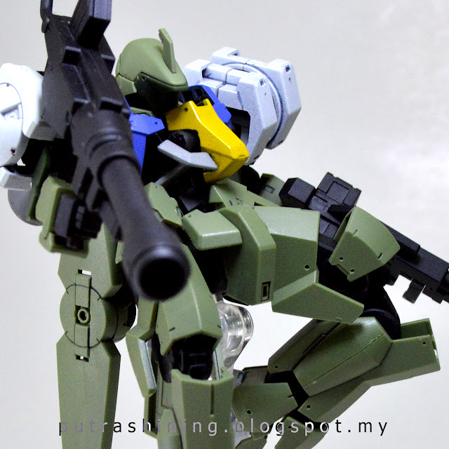HGIBO 1/144 Graze Full Armor Custom by Putra Shining