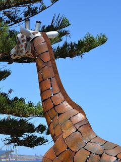 rusty giraffe