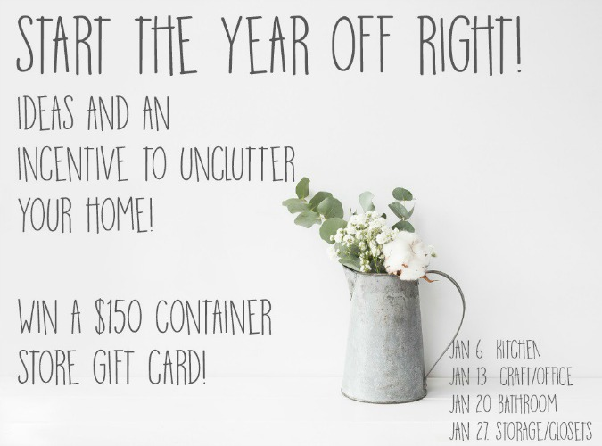 Giveaway $150 gift card The Container Store