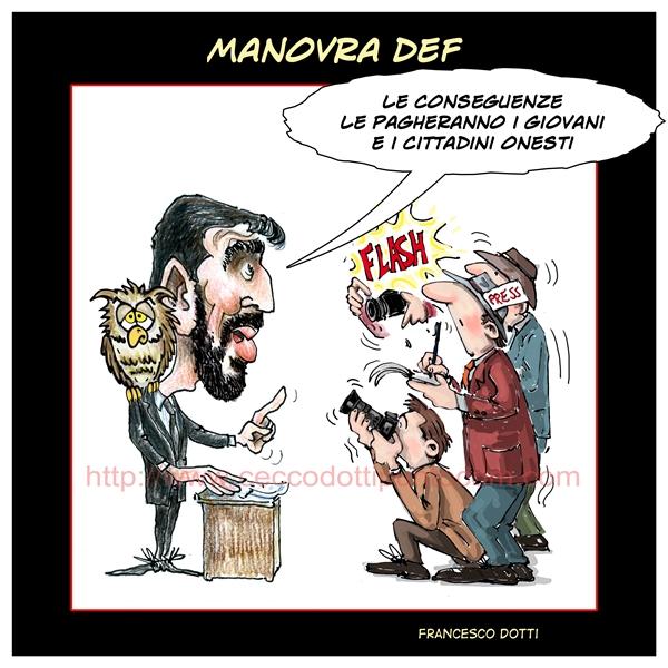 Maurizio Martina, Def e gufi Pd