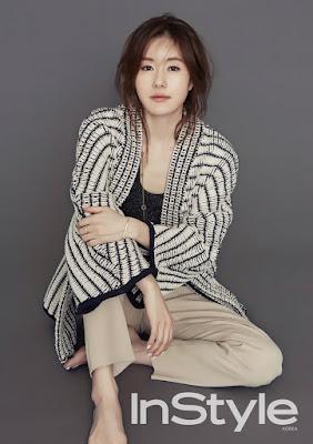 Kim Ji Soo InStyle March 2016