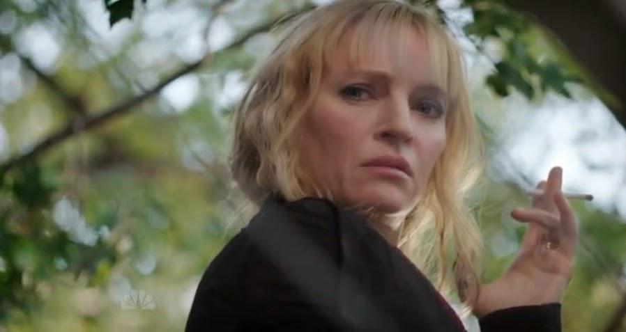 Uma Thurman es Anouk en The Slap