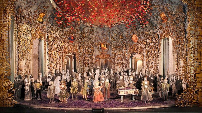 Προβολή της όπερας «Λα Τραβιάτα» του Βέρντι στο Δημοτικό Θέατρο Αλεξανδρούπολης