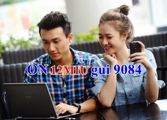 Đăng ký 3G gói 12Miu Mobifone