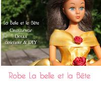 DIY: Créer la robe de la Belle et la Bête pour Barbie