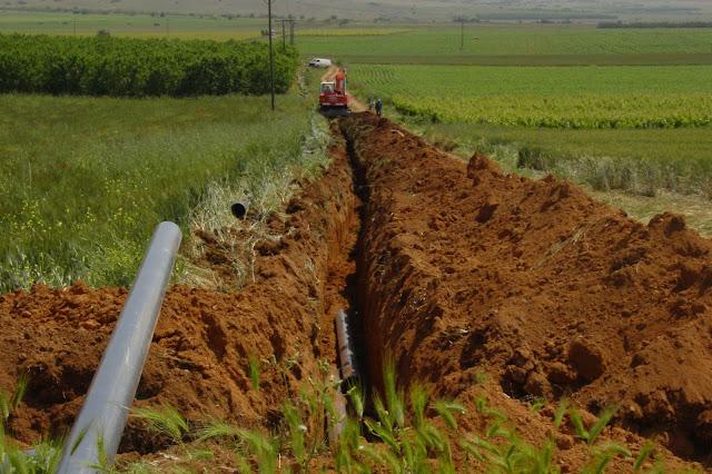 Προκήρυξη δημόσιας σύμβασης για αρδευτικά έργα στον πρώην Δήμο Ασίνης