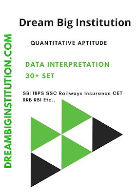 Quantitative Aptitude Data interpretation E-Book
