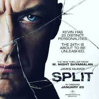 Nos vamos al cine, película, cartelera, cartel, split, multiple, cameo, james mcavoy, shyamalan, thriller psicológico, secuestros, intriga,