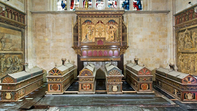 Winchester Cathedral's mortuary chests unlocked