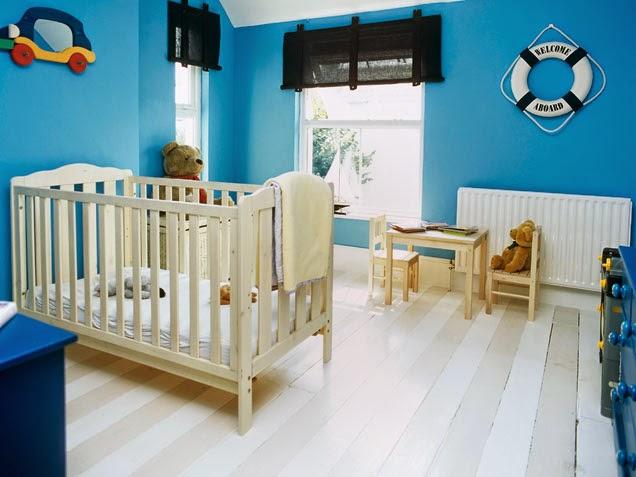 Decorar cuartos de beb s color celeste dormitorios - Colores para habitacion de bebe ...